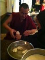 monks with elias